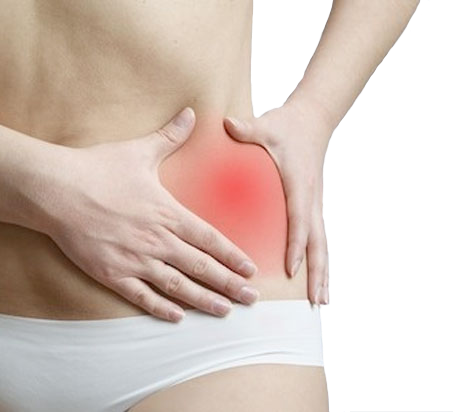 female pelvic pain while sitting